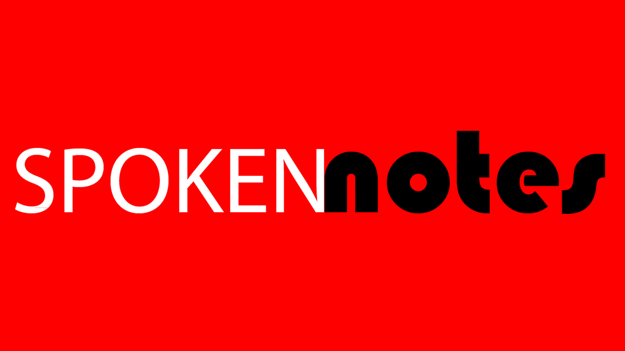 Spoken Notes Poetry Performance Videos