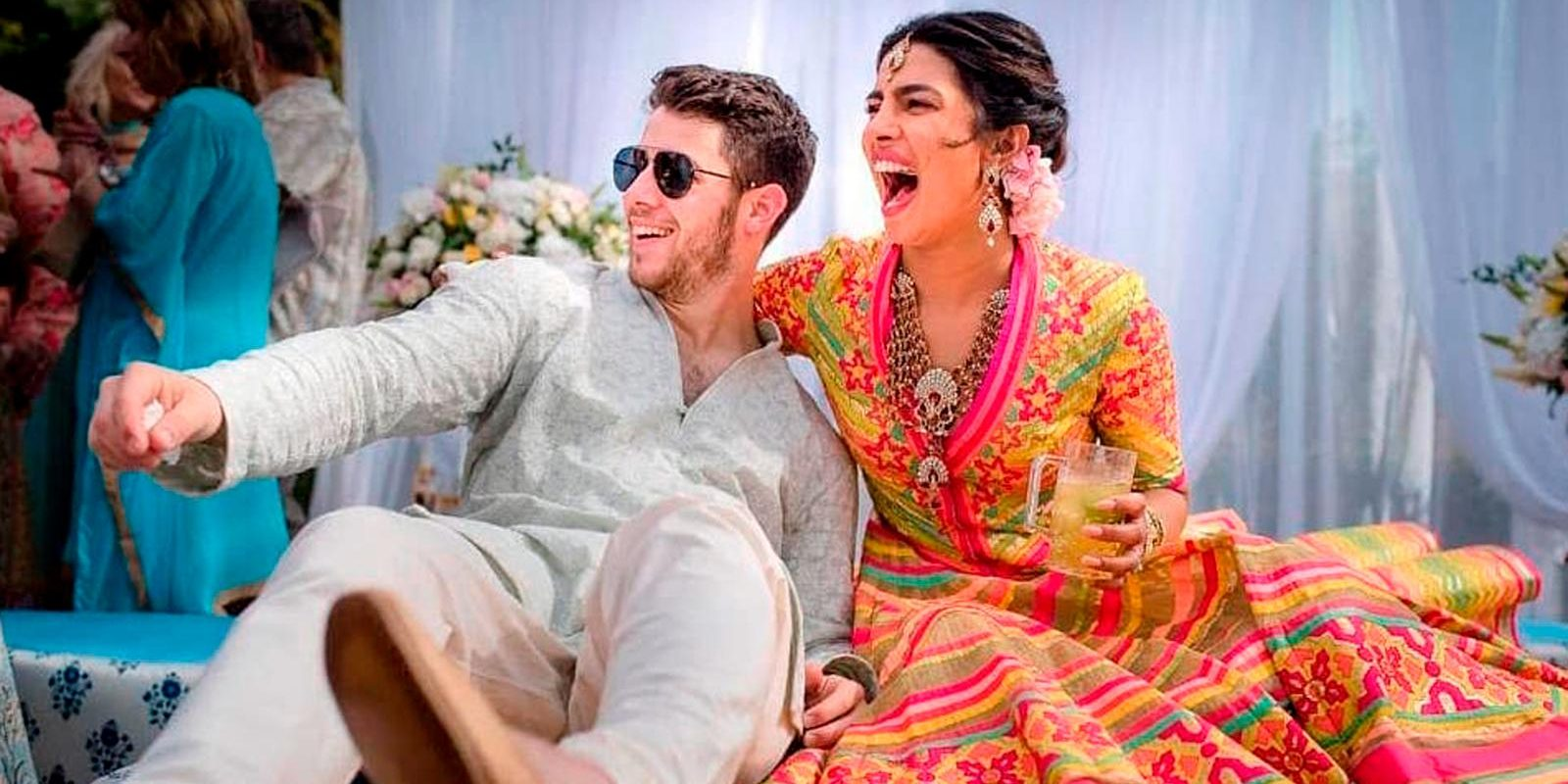 Congratulations to Priyanka and Jonas