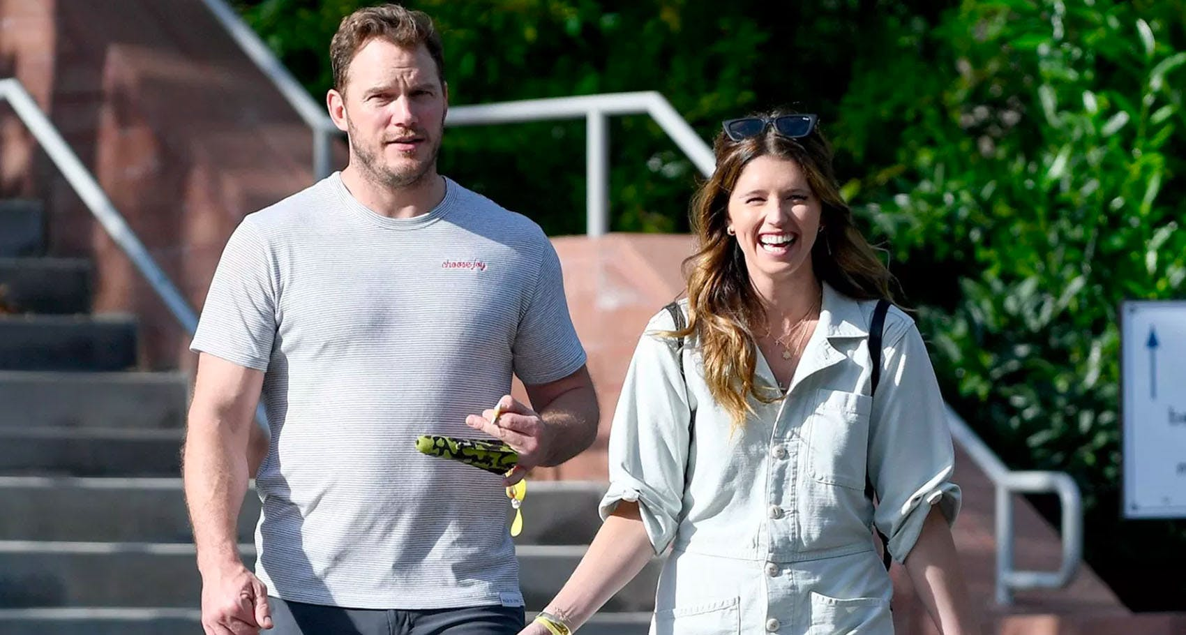 Chris Pratt because he got engaged to Katherine Schwarzenegger
