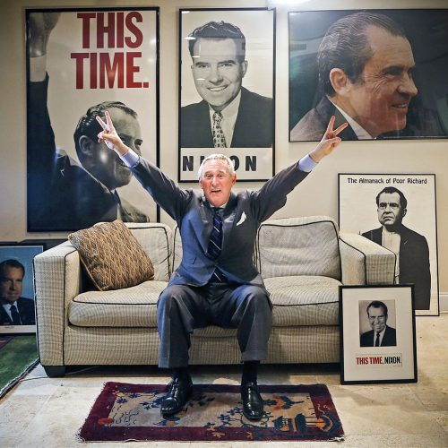 Roger Stone is indicted and out on bail
