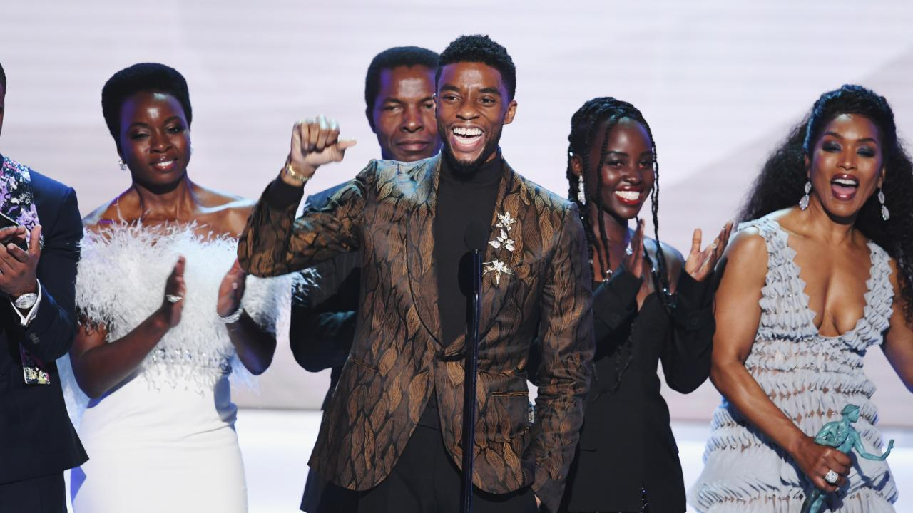 SAG Awards Big Moments were Black Panther and Bradley Cooper