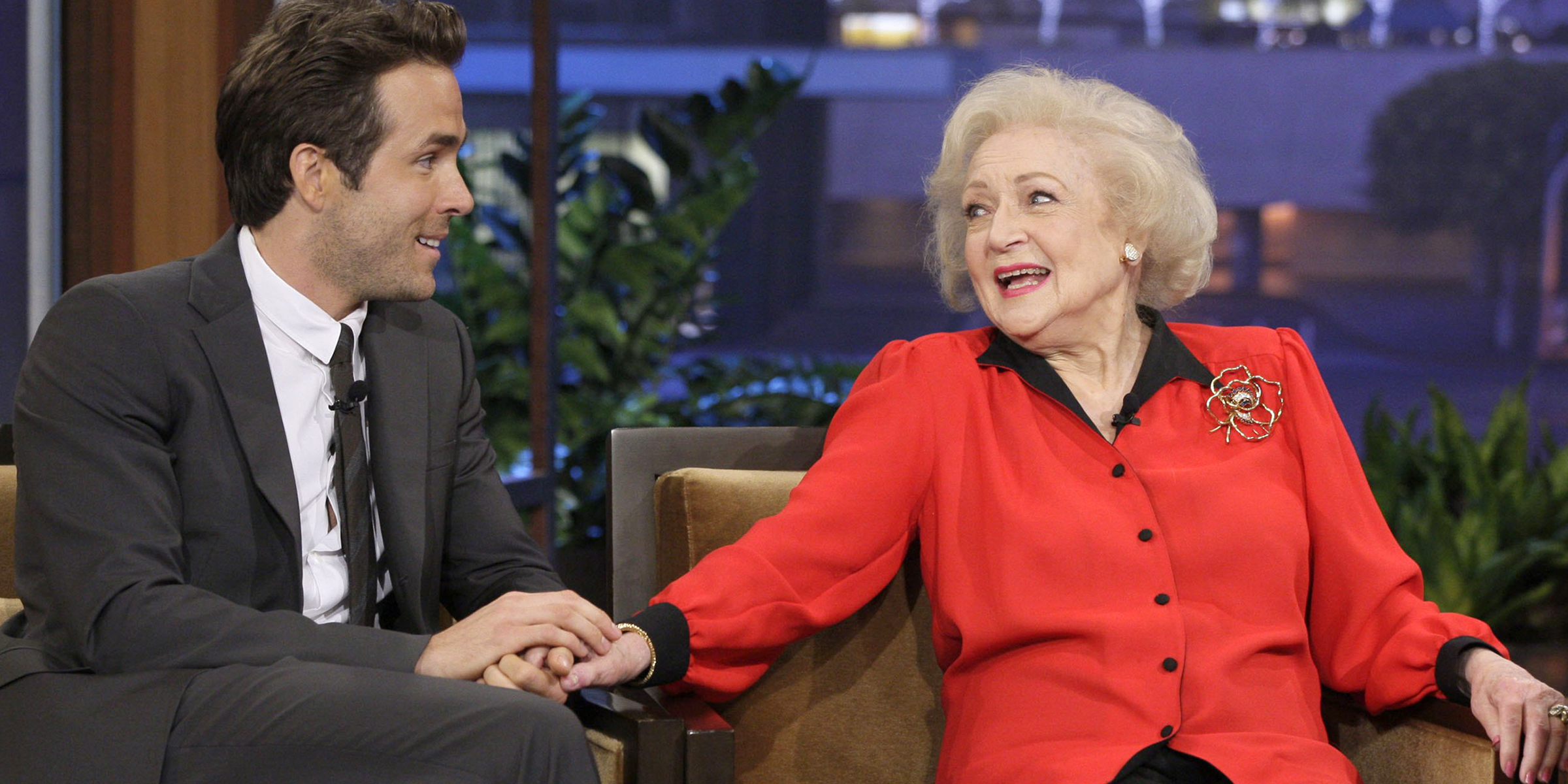 Happy Birthday to Betty White with Ryan Reynolds
